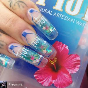 Man vet dessutom att man lyckats med sin design när personer till och med avbildar den på sina naglar!