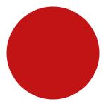 Röd ikon